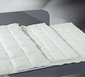 Система из трех пуховых одеял на кнопках Карат (легкое одеяло)