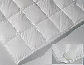 Система из трех пуховых одеял на кнопках Карат (среднее одеяло)