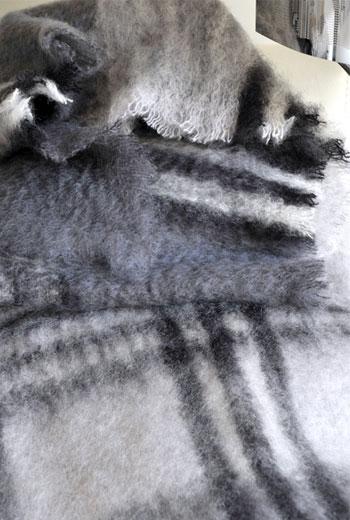 Плед из мохера Mohair, арт. 3096