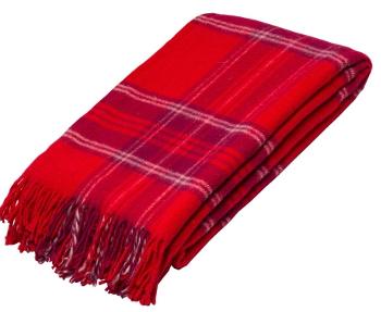 Плед из овечьей шерсти Шотландия 46