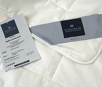 Одеяло Billerbeck, летнее с наполнителем из натурального шелка, Sari superlight