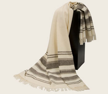 Плед из овечьей шерсти Дайна, арт. 0105